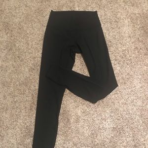 Lulu Lemon Wunder Under High Rise Tights.